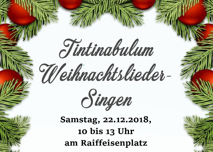 Weihnachtslieder Zum Singen.Weihnachtslieder Singen Am Raiffeisenplatz Marktgemeinde Kilb